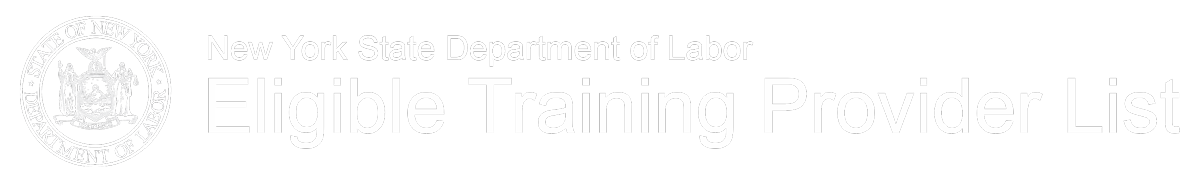 NYS DOL Eligible Training Provider List
